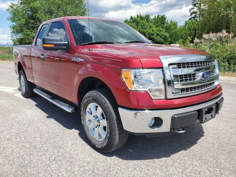 2013 Ford F-150 for sale at Mountain View Sales in Lolo MT