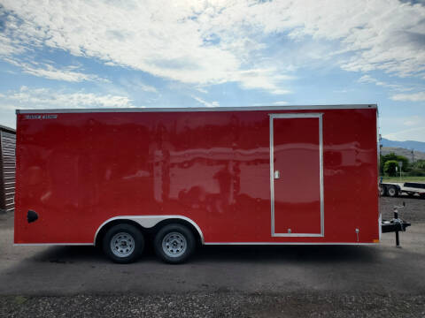 2021 Wells Cargo FastTrac 8.5x20 for sale at Mountain View Sales in Lolo MT