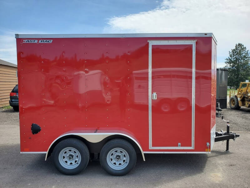 2021 Wells Cargo FastTrac 7x12 for sale at Mountain View Sales in Lolo MT