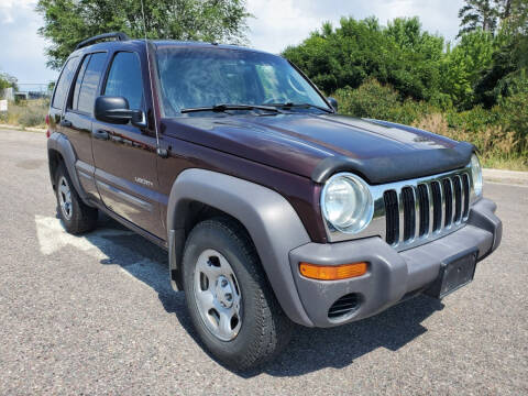 2004 Jeep Liberty for sale at Mountain View Sales in Lolo MT