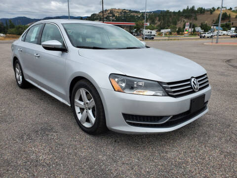 2012 Volkswagen Passat for sale at Mountain View Sales in Lolo MT