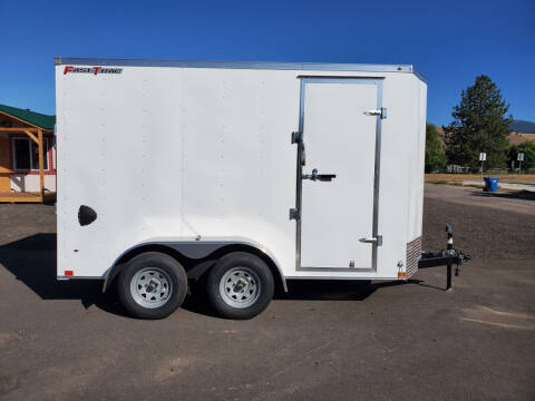 2021 Wells Cargo FastTrac 6x12 for sale at Mountain View Sales in Lolo MT