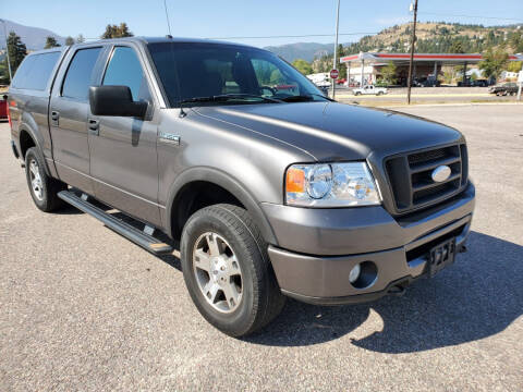 2007 Ford F-150 for sale at Mountain View Sales in Lolo MT