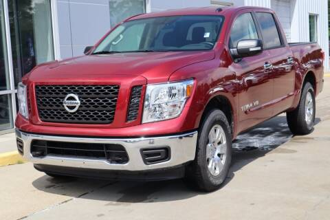 2019 Nissan Titan SV for sale at NISSAN OF PICAYUNE in Picayune MS