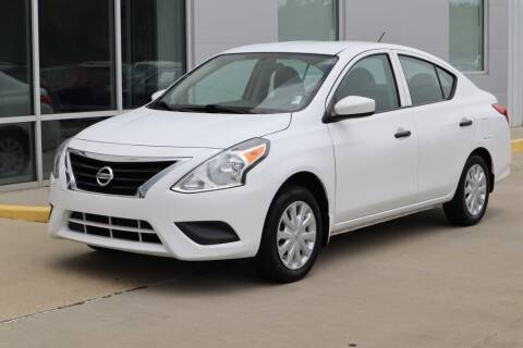 2016 Nissan Versa 1.6 S for sale at NISSAN OF PICAYUNE in Picayune MS