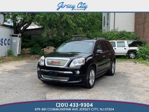 2011 GMC Acadia Denali for sale at Jersey City Autoland in New Jersey NJ
