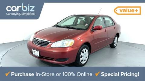 2006 Toyota Corolla LE for sale at Carbiz DC in Laurel MD