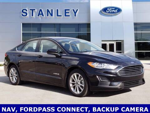 2019 Ford Fusion Hybrid for sale at Stanley Ford Gilmer in Gilmer TX