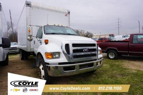 2012 Ford F-650 Super Duty for sale at COYLE GM - COYLE NISSAN - New Inventory in Clarksville IN