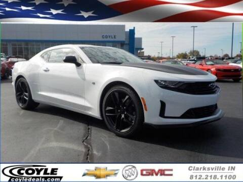 2019 Chevrolet Camaro for sale at COYLE GM - COYLE NISSAN - New Inventory in Clarksville IN