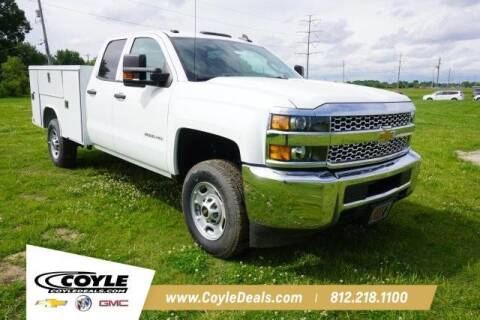 2019 Chevrolet Silverado 2500HD for sale at COYLE GM - COYLE NISSAN - New Inventory in Clarksville IN