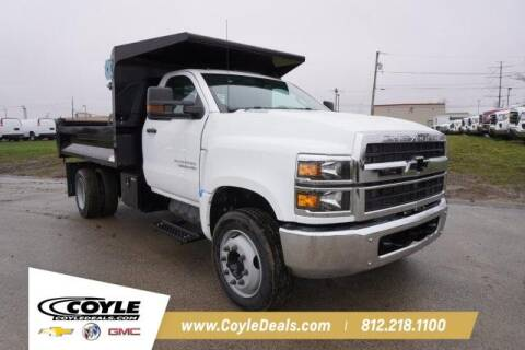 2019 Chevrolet Silverado Chassis Cab for sale at COYLE GM - COYLE NISSAN - New Inventory in Clarksville IN