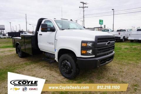 2020 Chevrolet Silverado Chassis Cab for sale at COYLE GM - COYLE NISSAN - New Inventory in Clarksville IN