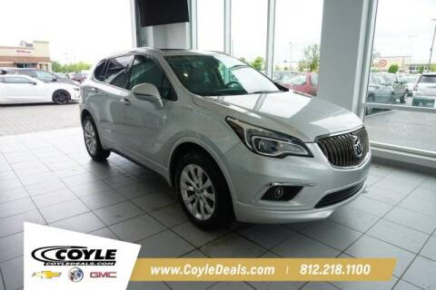 2017 Buick Envision for sale at COYLE GM - COYLE NISSAN - New Inventory in Clarksville IN