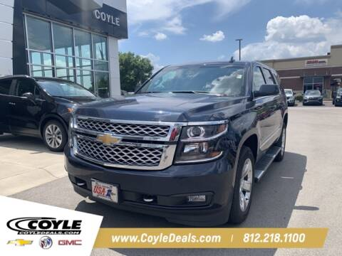 2017 Chevrolet Tahoe for sale at COYLE GM - COYLE NISSAN in Clarksville IN