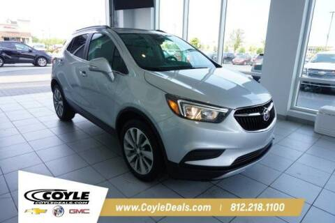 2017 Buick Encore for sale at COYLE GM - COYLE NISSAN - New Inventory in Clarksville IN