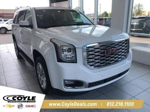 2018 GMC Yukon for sale at COYLE GM - COYLE NISSAN - New Inventory in Clarksville IN