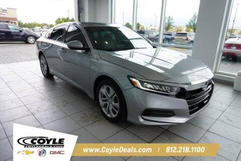 2019 Honda Accord for sale at COYLE GM - COYLE NISSAN - New Inventory in Clarksville IN