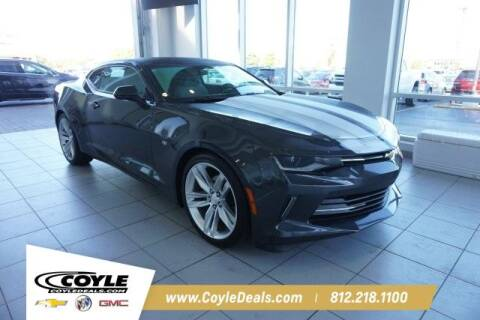 2018 Chevrolet Camaro for sale at COYLE GM - COYLE NISSAN - New Inventory in Clarksville IN
