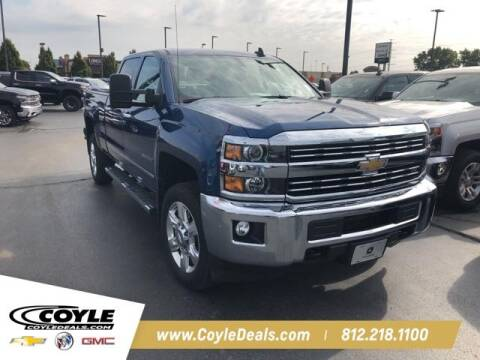 2017 Chevrolet Silverado 2500HD for sale at COYLE GM - COYLE NISSAN - New Inventory in Clarksville IN
