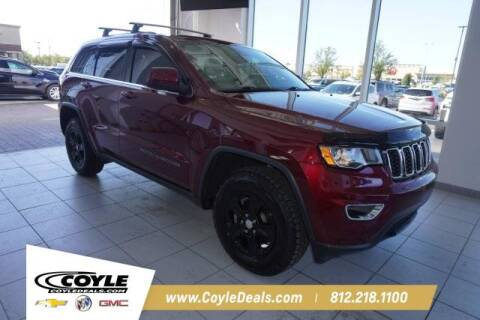 2017 Jeep Grand Cherokee for sale at COYLE GM - COYLE NISSAN - New Inventory in Clarksville IN