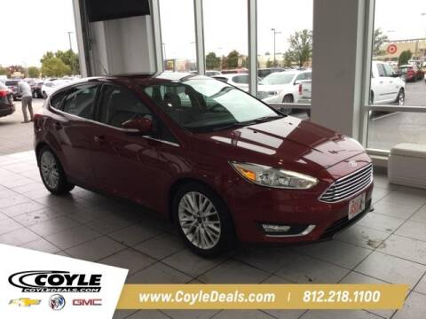 2017 Ford Focus for sale at COYLE GM - COYLE NISSAN - New Inventory in Clarksville IN