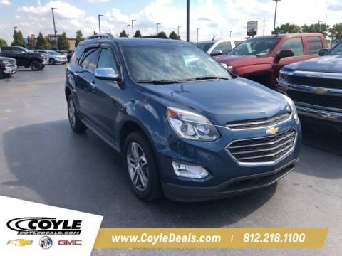 2016 Chevrolet Equinox for sale at COYLE GM - COYLE NISSAN - New Inventory in Clarksville IN