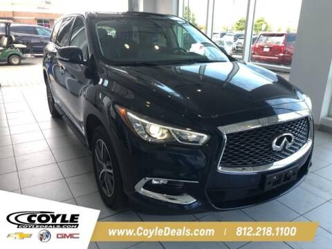 2018 Infiniti QX60 for sale at COYLE GM - COYLE NISSAN - New Inventory in Clarksville IN