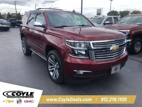 2018 Chevrolet Tahoe for sale at COYLE GM - COYLE NISSAN - New Inventory in Clarksville IN
