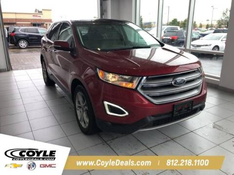 2016 Ford Edge for sale at COYLE GM - COYLE NISSAN - New Inventory in Clarksville IN