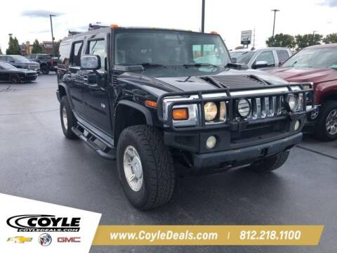 2003 HUMMER H2 for sale at COYLE GM - COYLE NISSAN - New Inventory in Clarksville IN