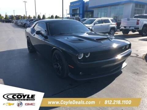 2017 Dodge Challenger for sale at COYLE GM - COYLE NISSAN - New Inventory in Clarksville IN