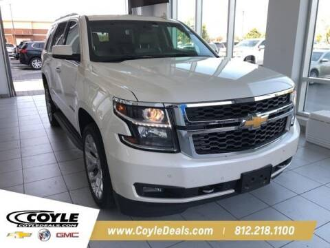 2015 Chevrolet Tahoe for sale at COYLE GM - COYLE NISSAN - New Inventory in Clarksville IN