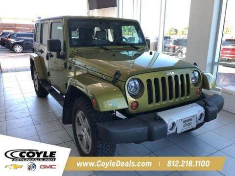 2010 Jeep Wrangler Unlimited for sale at COYLE GM - COYLE NISSAN - New Inventory in Clarksville IN