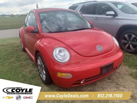 2003 Volkswagen New Beetle for sale at COYLE GM - COYLE NISSAN - New Inventory in Clarksville IN