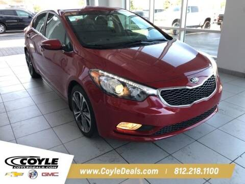 2015 Kia Forte for sale at COYLE GM - COYLE NISSAN - New Inventory in Clarksville IN