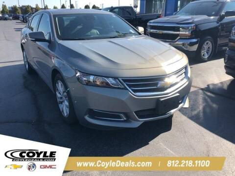2017 Chevrolet Impala for sale at COYLE GM - COYLE NISSAN - New Inventory in Clarksville IN