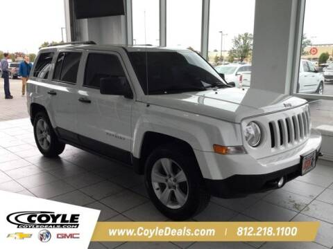 2017 Jeep Patriot for sale at COYLE GM - COYLE NISSAN - New Inventory in Clarksville IN