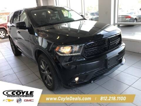 2017 Dodge Durango for sale at COYLE GM - COYLE NISSAN - New Inventory in Clarksville IN