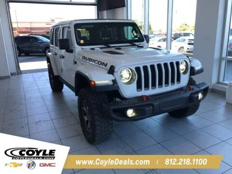 2020 Jeep Wrangler Unlimited for sale at COYLE GM - COYLE NISSAN - New Inventory in Clarksville IN