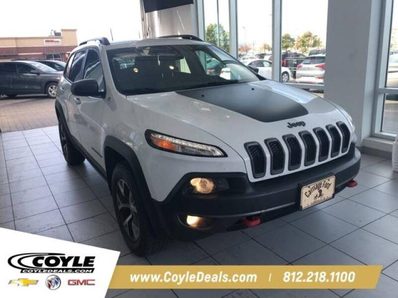 2016 Jeep Cherokee for sale at COYLE GM - COYLE NISSAN - New Inventory in Clarksville IN