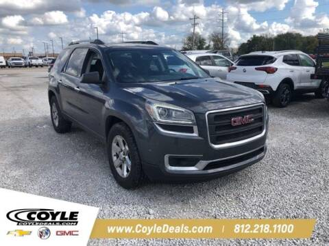2013 GMC Acadia for sale at COYLE GM - COYLE NISSAN - New Inventory in Clarksville IN
