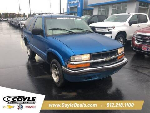 2000 Chevrolet Blazer for sale at COYLE GM - COYLE NISSAN - New Inventory in Clarksville IN