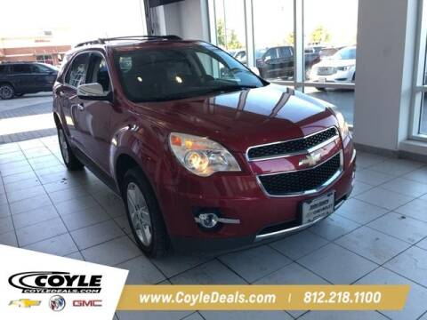 2014 Chevrolet Equinox for sale at COYLE GM - COYLE NISSAN - New Inventory in Clarksville IN