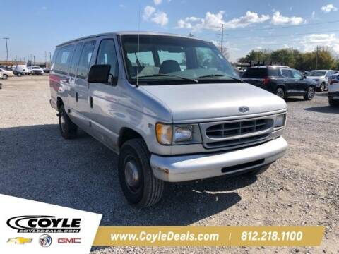 1998 Ford E-350 for sale at COYLE GM - COYLE NISSAN - New Inventory in Clarksville IN