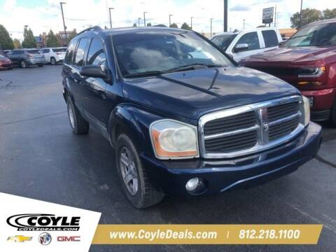 2005 Dodge Durango for sale at COYLE GM - COYLE NISSAN - New Inventory in Clarksville IN