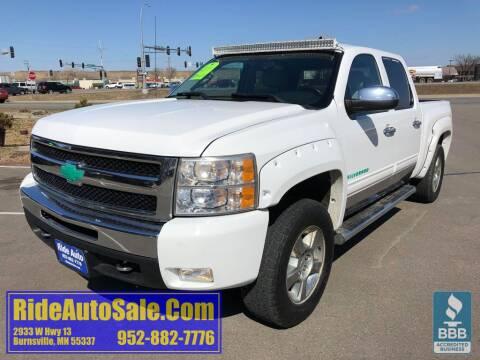 2011 Chevrolet Silverado 1500 LT for sale at ride auto sales in Burnsville MN