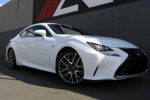 2016 Lexus RC 200t for sale at Auto Republic Orange in Orange CA