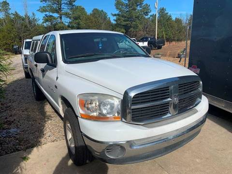 2006 Dodge Ram Pickup 1500 for sale at Shelton & Son Auto Sales L.L.C in Dover AR