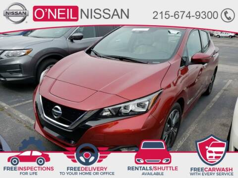 2019 Nissan LEAF SL for sale at O'NEIL NISSAN in Warminster PA